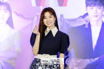 韓孝珠(韓孝周) x ViuTV《W –兩個世界》宣傳記者會