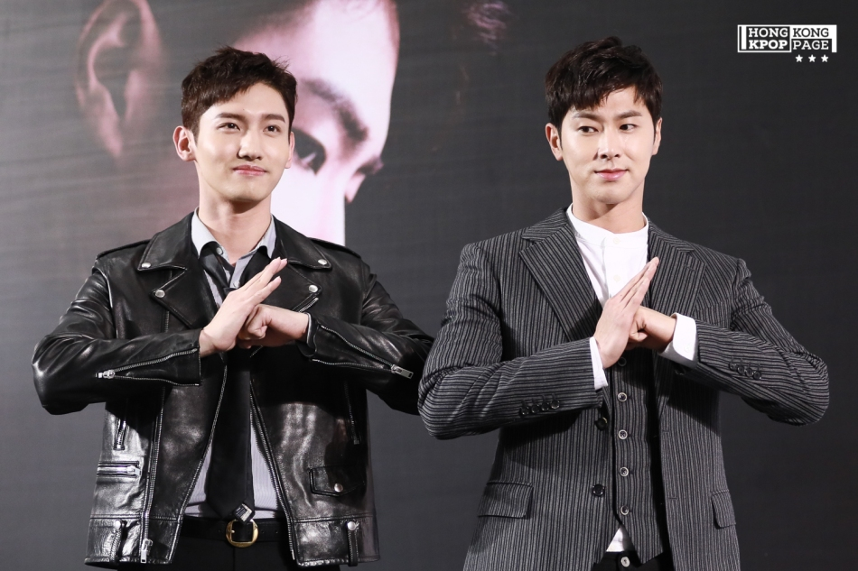 TVXQ! ASIA PRESS TOUR In Hong Kong