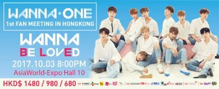 [10.03] WANNA ONE 1st FAN MEETING INHONGKONG