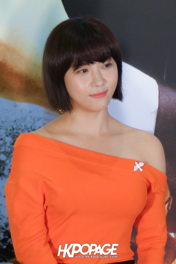[HK.KPOP.PAGE] 171118_Ha Ji Won Movie Manhunt Premiere_01