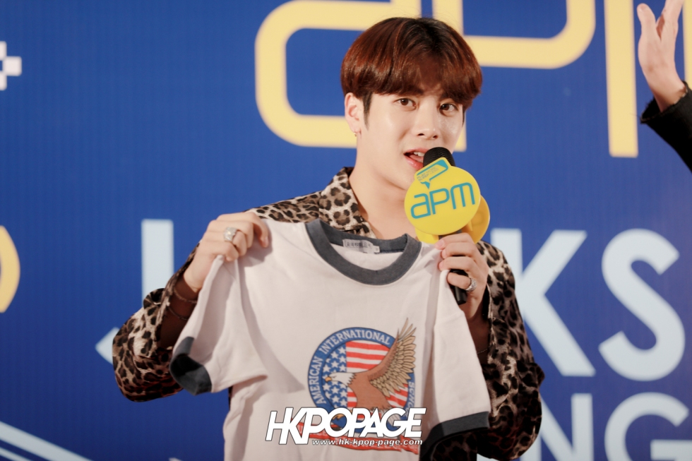 [HK.KPOP.PAGE] 171204_apm x Jackson Wang 1st mini fan meeting in Hong Kong_01