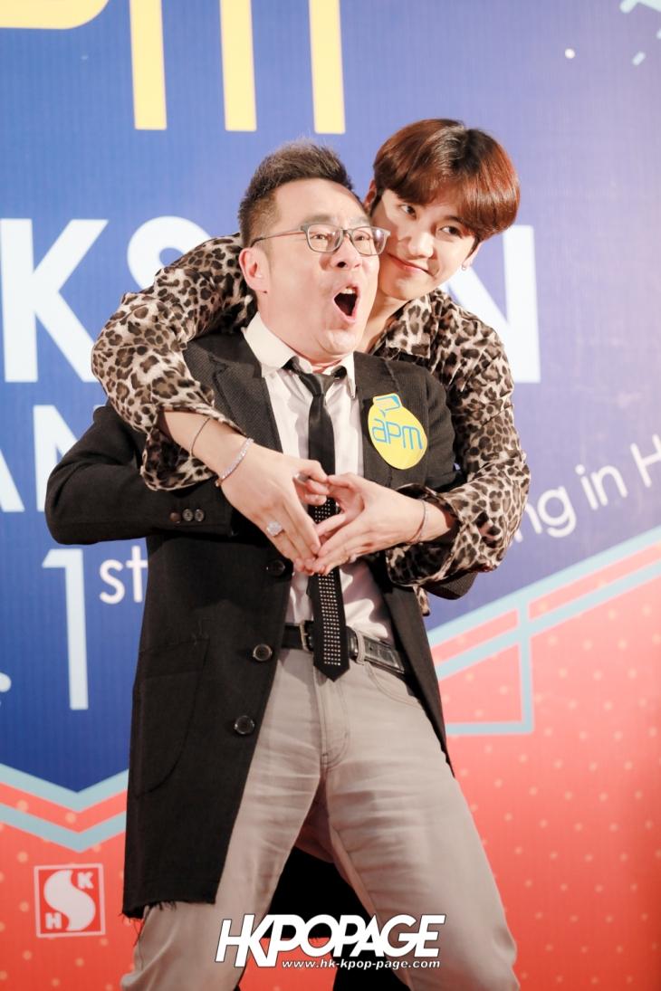 [HK.KPOP.PAGE] 171204_apm x Jackson Wang 1st mini fan meeting in Hong Kong_13
