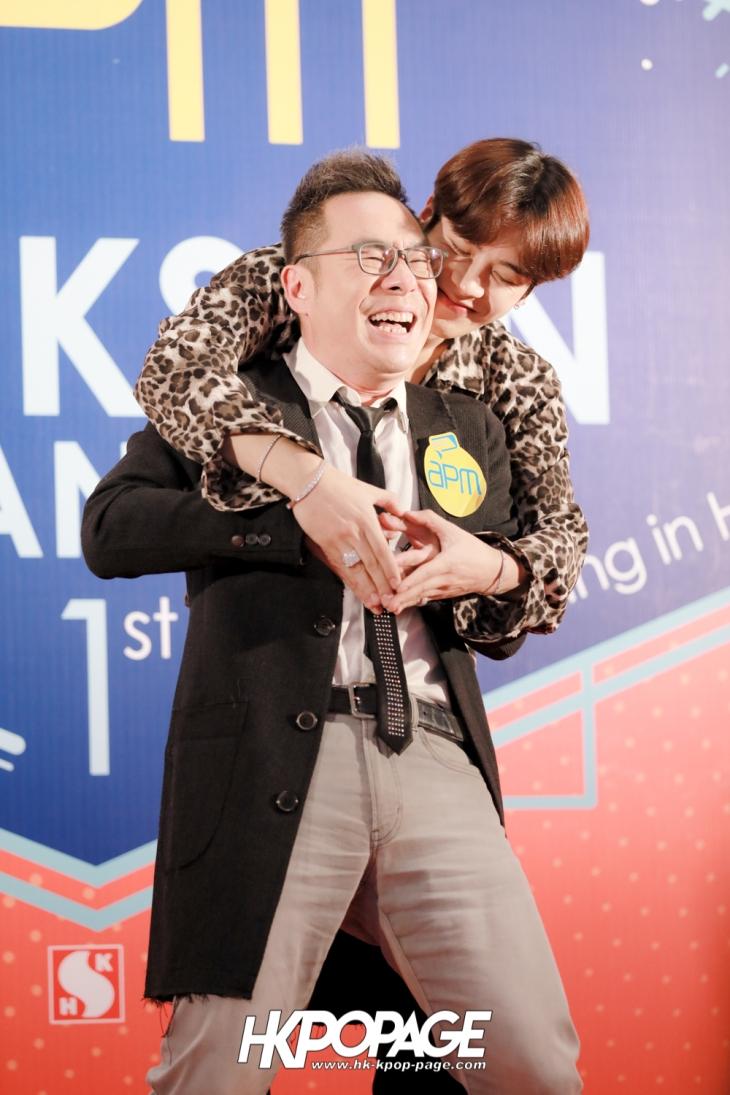 [HK.KPOP.PAGE] 171204_apm x Jackson Wang 1st mini fan meeting in Hong Kong_14