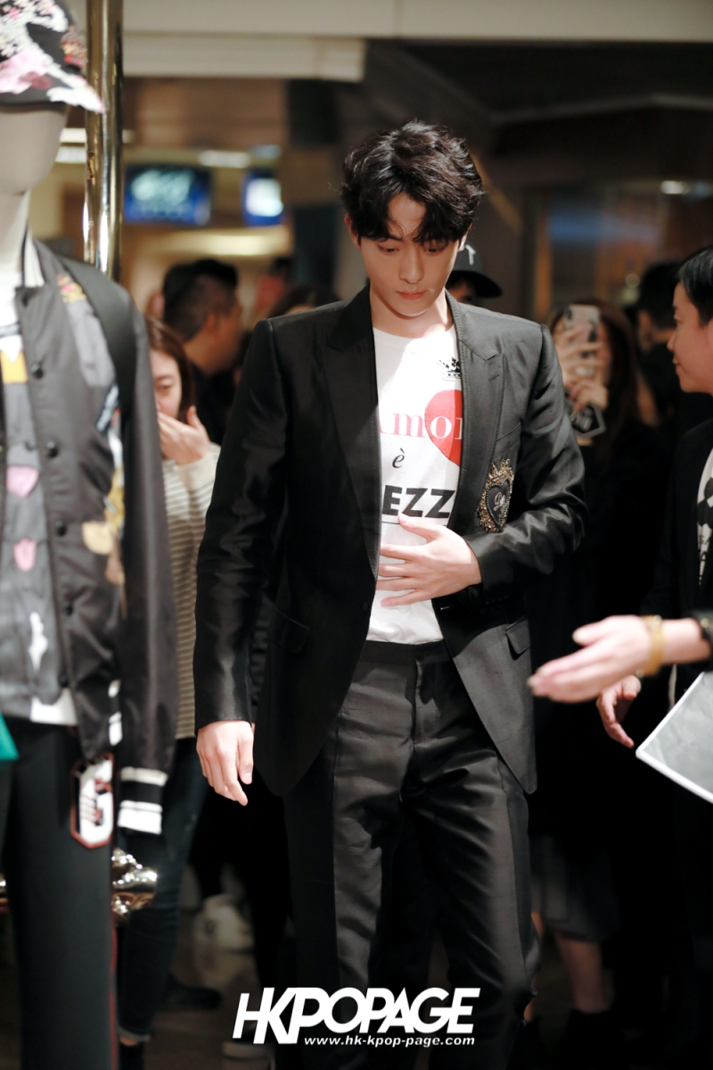 [HK.KPOP.PAGE] 180705_Nam Joo Hyuk @ DOLCE&GABBANA CNY Pop up store at Harbour City_01