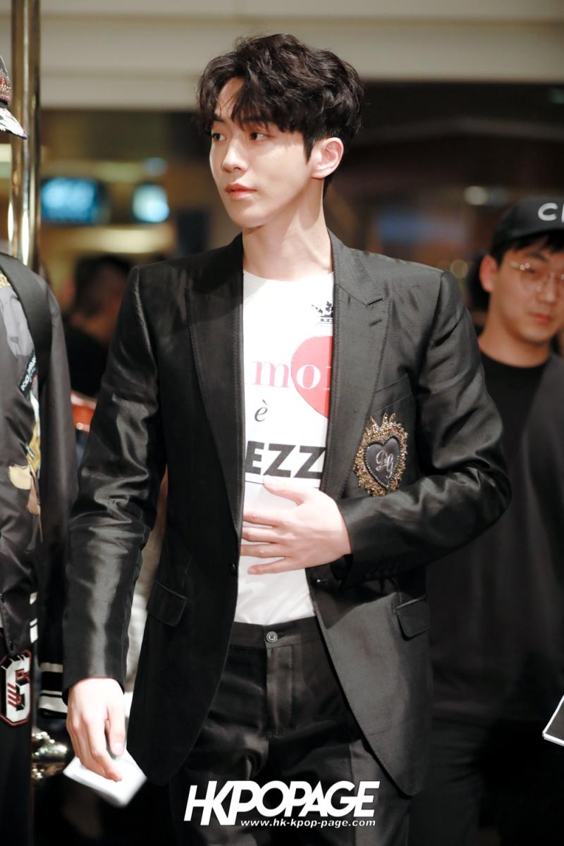 [HK.KPOP.PAGE] 180705_Nam Joo Hyuk @ DOLCE&GABBANA CNY Pop up store at Harbour City_02