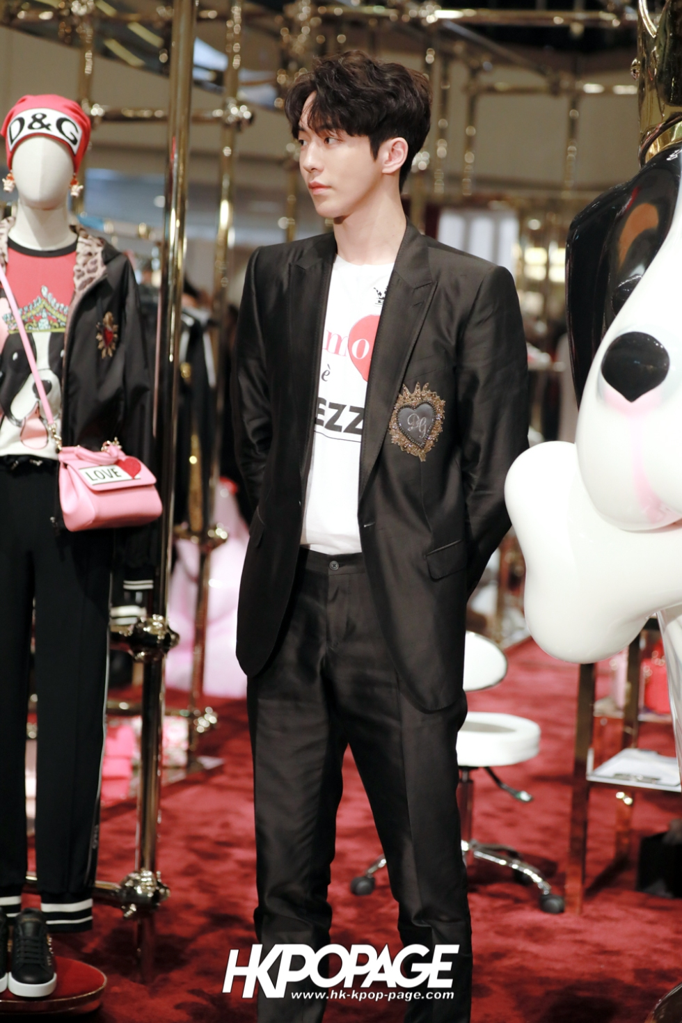 [HK.KPOP.PAGE] 180705_Nam Joo Hyuk @ DOLCE&GABBANA CNY Pop up store at Harbour City_04