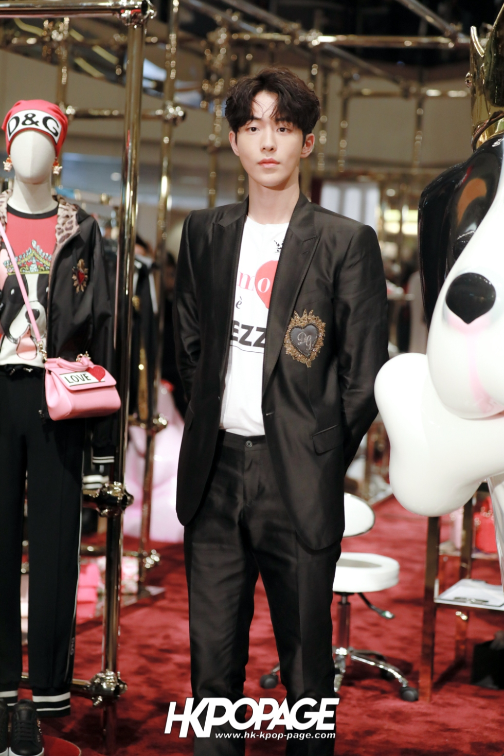 [HK.KPOP.PAGE] 180705_Nam Joo Hyuk @ DOLCE&GABBANA CNY Pop up store at Harbour City_05