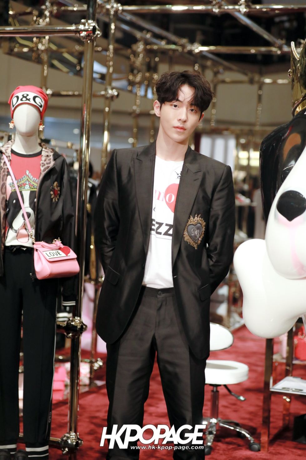 [HK.KPOP.PAGE] 180705_Nam Joo Hyuk @ DOLCE&GABBANA CNY Pop up store at Harbour City_06