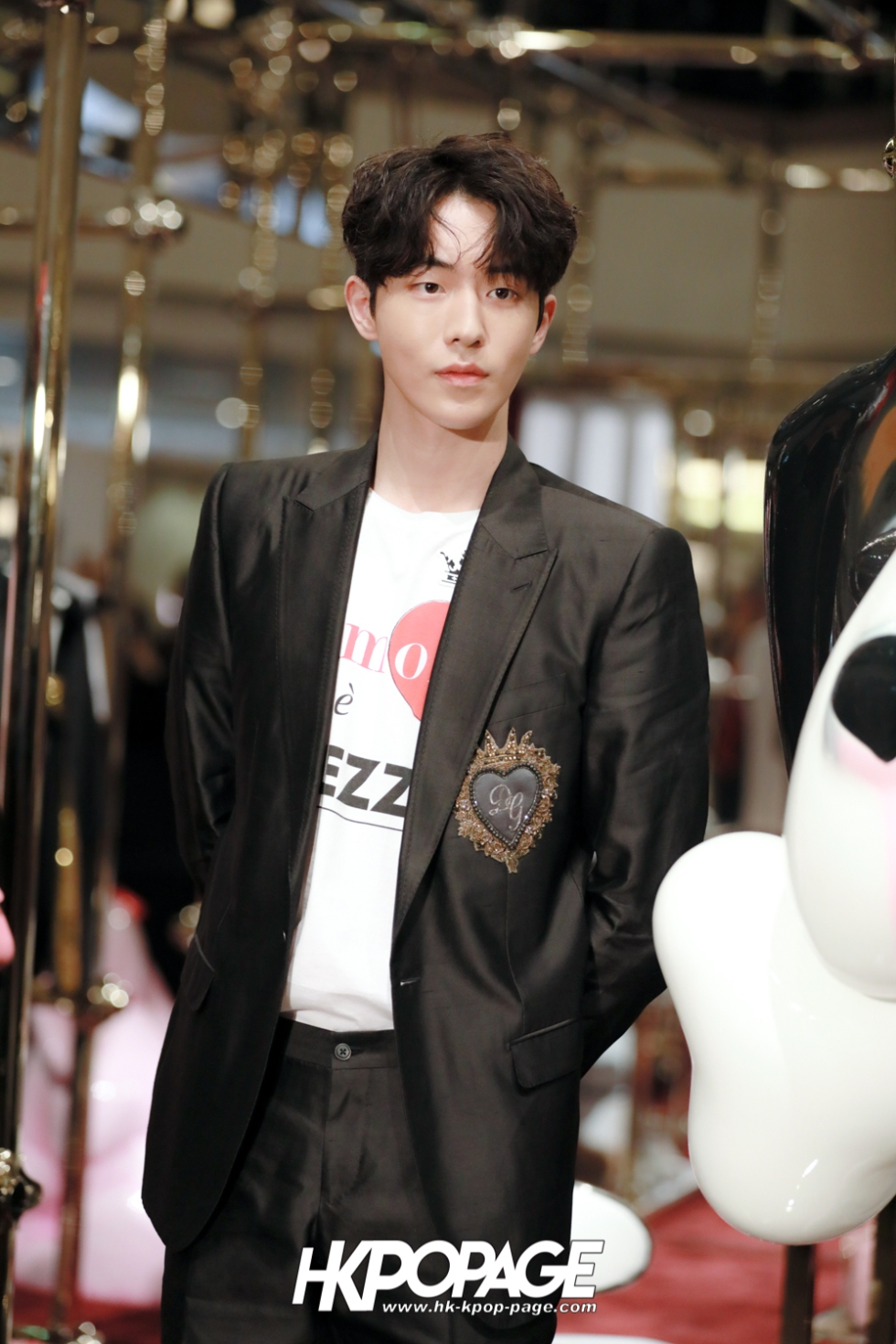 [HK.KPOP.PAGE] 180705_Nam Joo Hyuk @ DOLCE&GABBANA CNY Pop up store at Harbour City_08