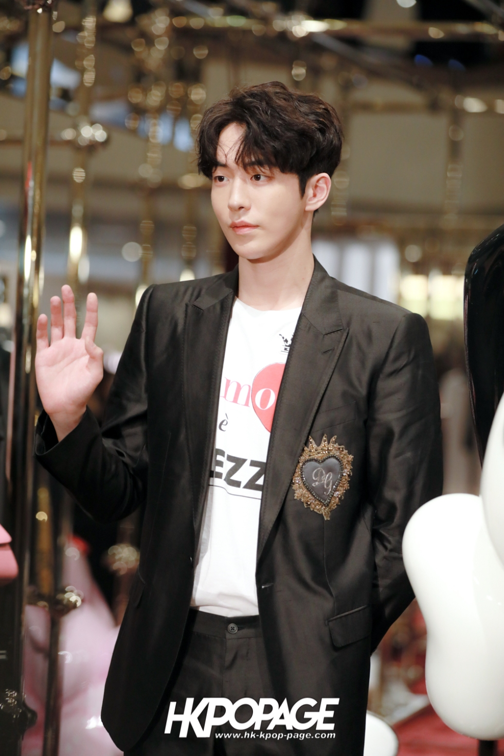 [HK.KPOP.PAGE] 180705_Nam Joo Hyuk @ DOLCE&GABBANA CNY Pop up store at Harbour City_13