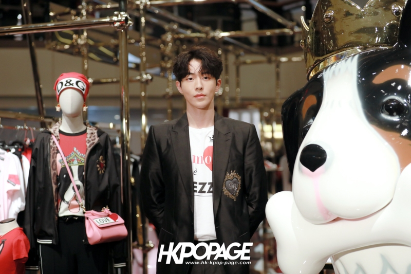 [HK.KPOP.PAGE] 180705_Nam Joo Hyuk @ DOLCE&GABBANA CNY Pop up store at Harbour City_14