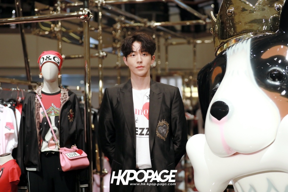 [HK.KPOP.PAGE] 180705_Nam Joo Hyuk @ DOLCE&GABBANA CNY Pop up store at Harbour City_14