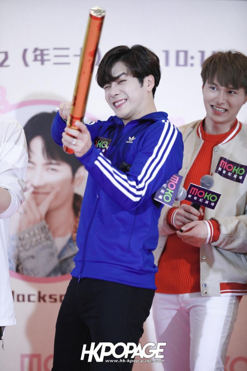 [HK.KPOP.PAGE] 180215_Jackson Wang MOKO Countdown Event_36
