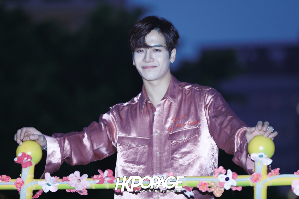 [HK.KPOP.PAGE] 180215_Jackson Wang The International Chinese New Year Night Parade _02
