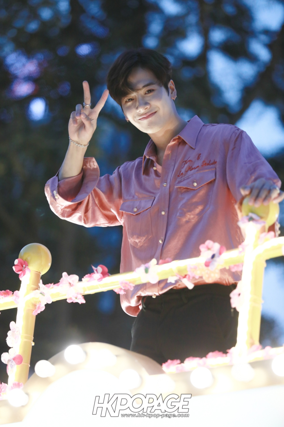 [HK.KPOP.PAGE] 180215_Jackson Wang The International Chinese New Year Night Parade _06
