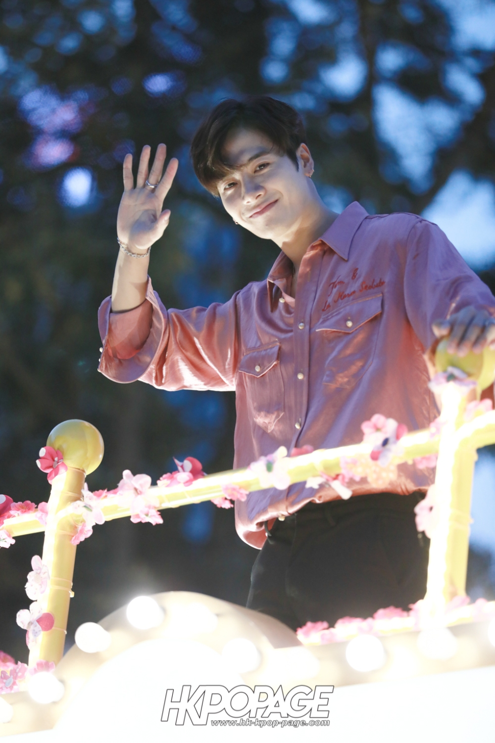 [HK.KPOP.PAGE] 180215_Jackson Wang The International Chinese New Year Night Parade _07
