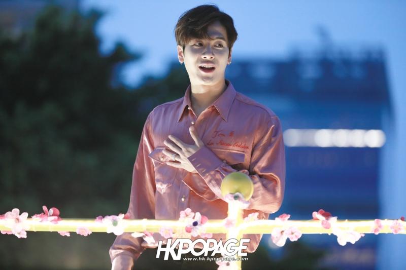 [HK.KPOP.PAGE] 180215_Jackson Wang The International Chinese New Year Night Parade _14