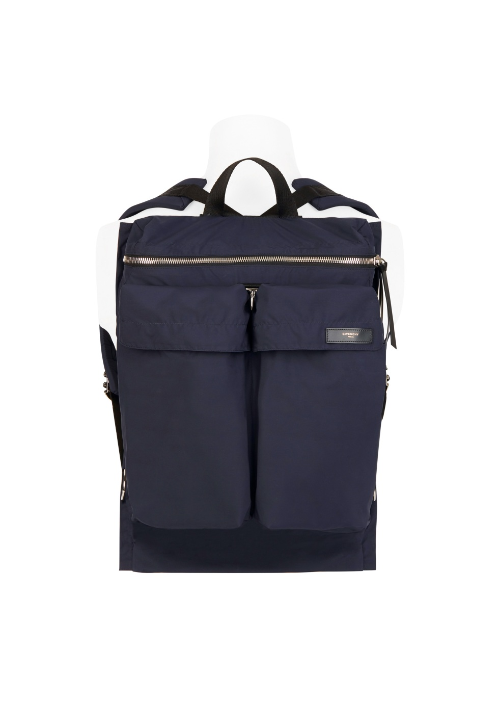 Givenchy_Flat Backpack in Navy Soft Nylon_HKD10200