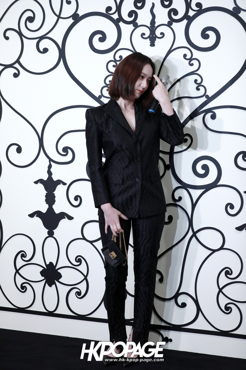 [HK.KPOP.PAGE] 180315_Krystal_Givenchy Event_08