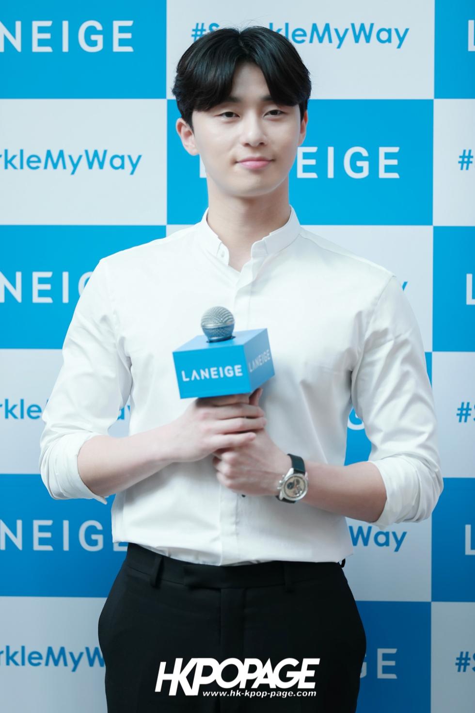 [HK.KPOP.PAGE] 180319_Park Seo Joon_LANEIGE Sparkling Café_02