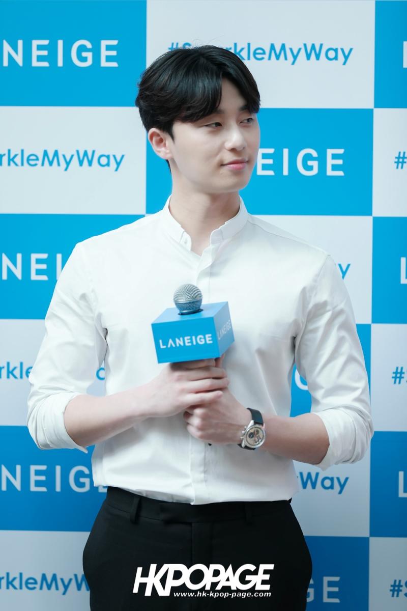 [HK.KPOP.PAGE] 180319_Park Seo Joon_LANEIGE Sparkling Café_03