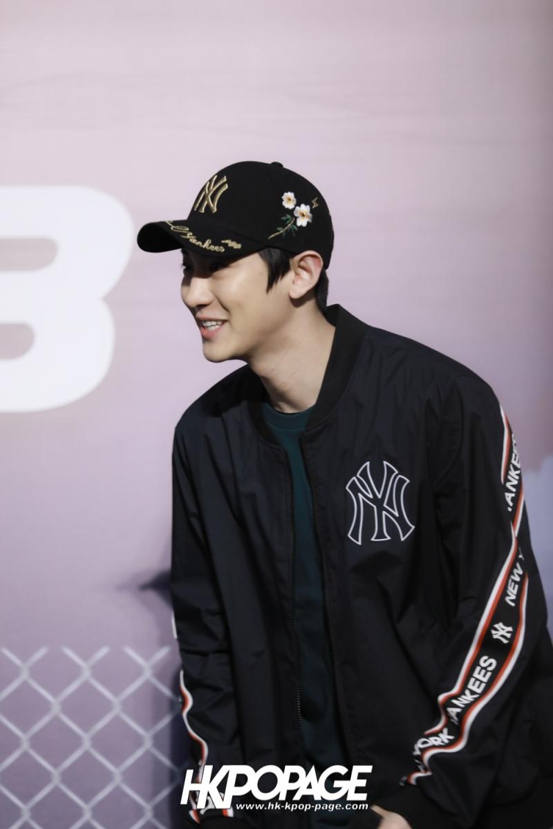 [HK.KPOP.PAGE] 180323_EXO_Chanyeol Kai Sehun_MLB Event_05
