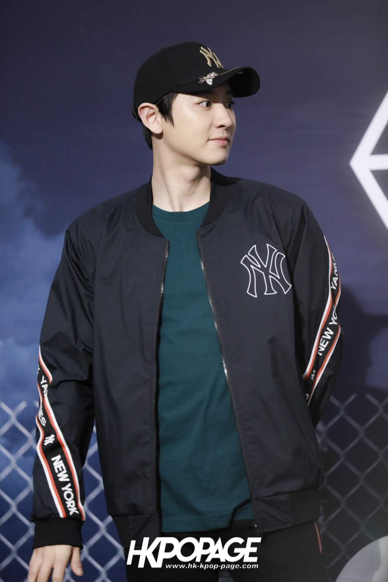 [HK.KPOP.PAGE] 180323_EXO_Chanyeol Kai Sehun_MLB Event_08