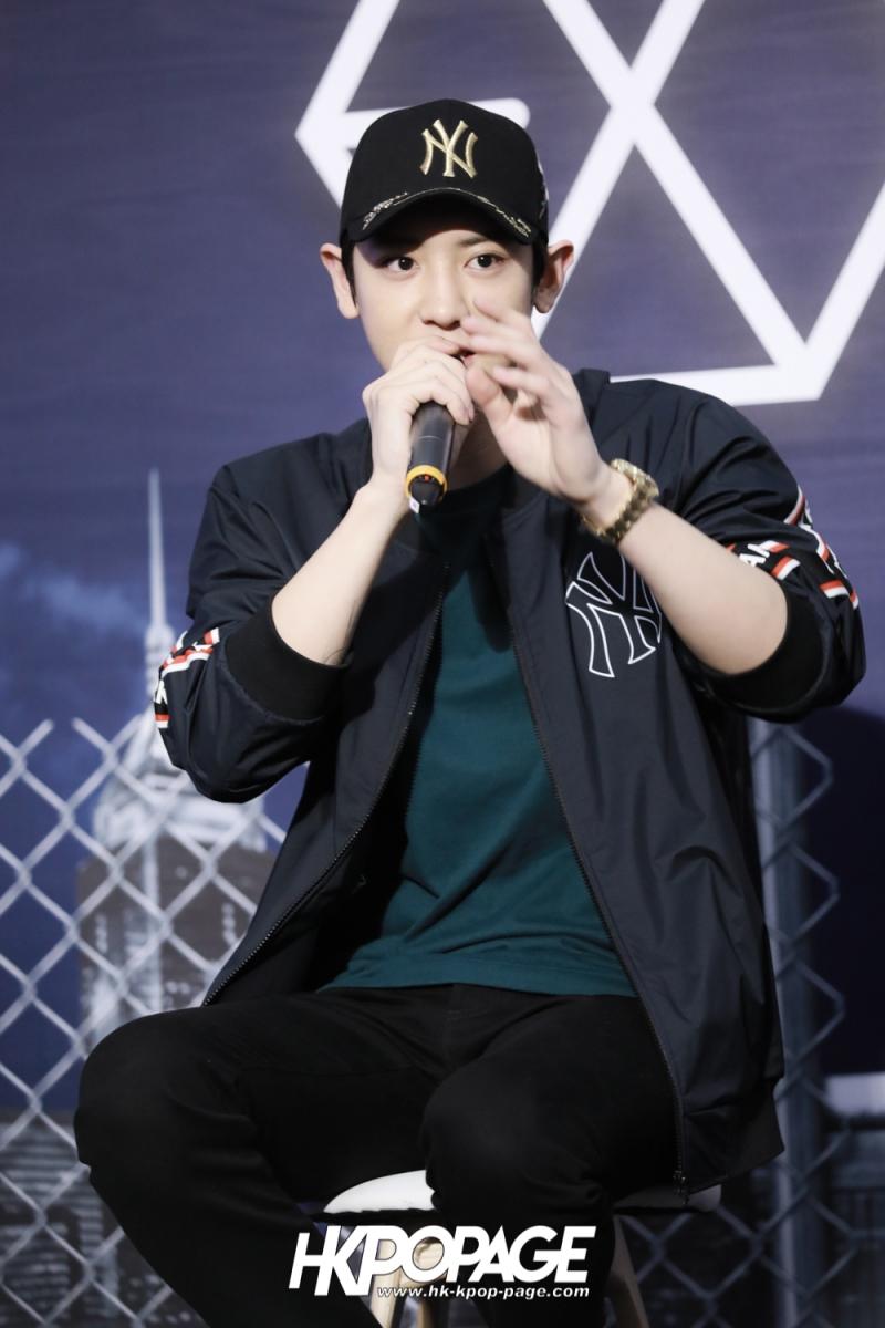 [HK.KPOP.PAGE] 180323_EXO_Chanyeol Kai Sehun_MLB Event_09