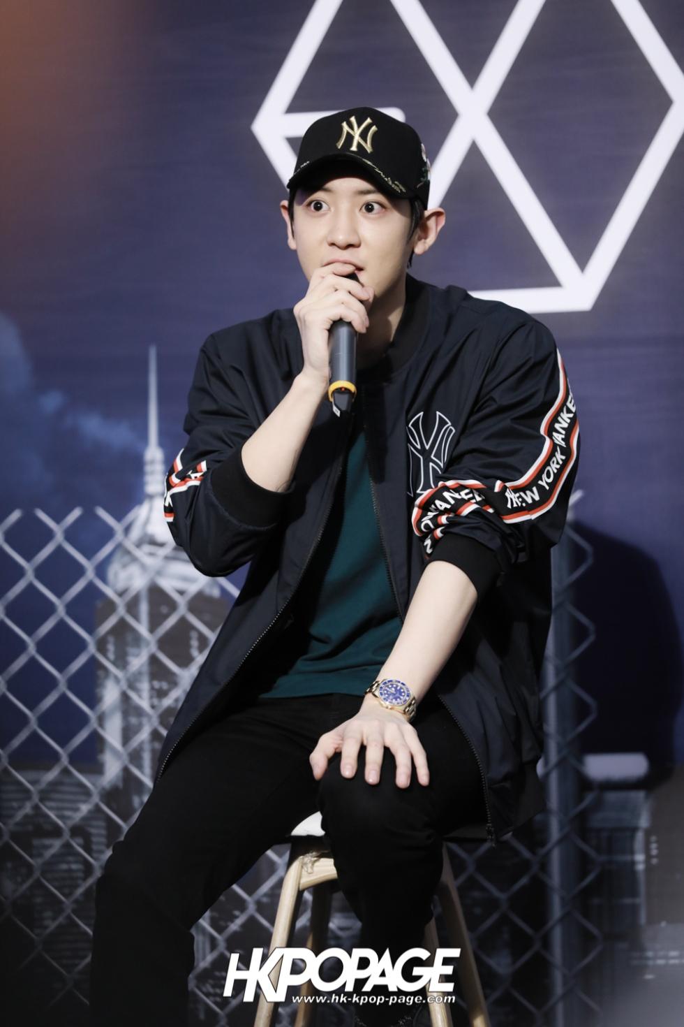 [HK.KPOP.PAGE] 180323_EXO_Chanyeol Kai Sehun_MLB Event_10