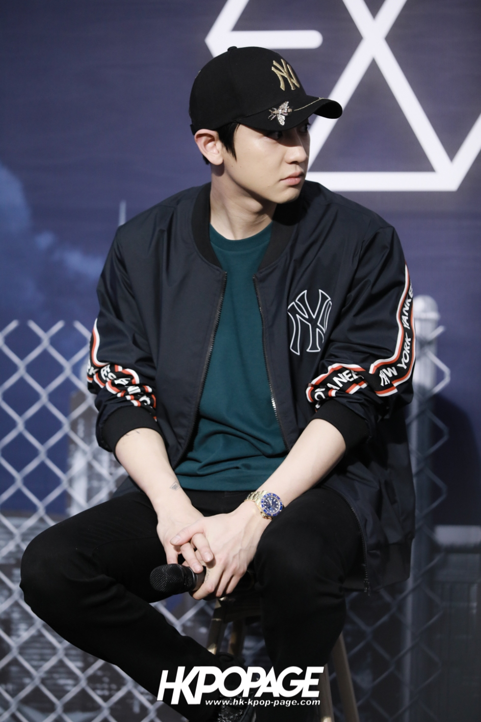 [HK.KPOP.PAGE] 180323_EXO_Chanyeol Kai Sehun_MLB Event_11