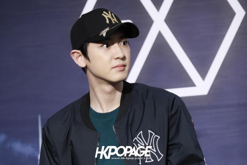 [HK.KPOP.PAGE] 180323_EXO_Chanyeol Kai Sehun_MLB Event_13