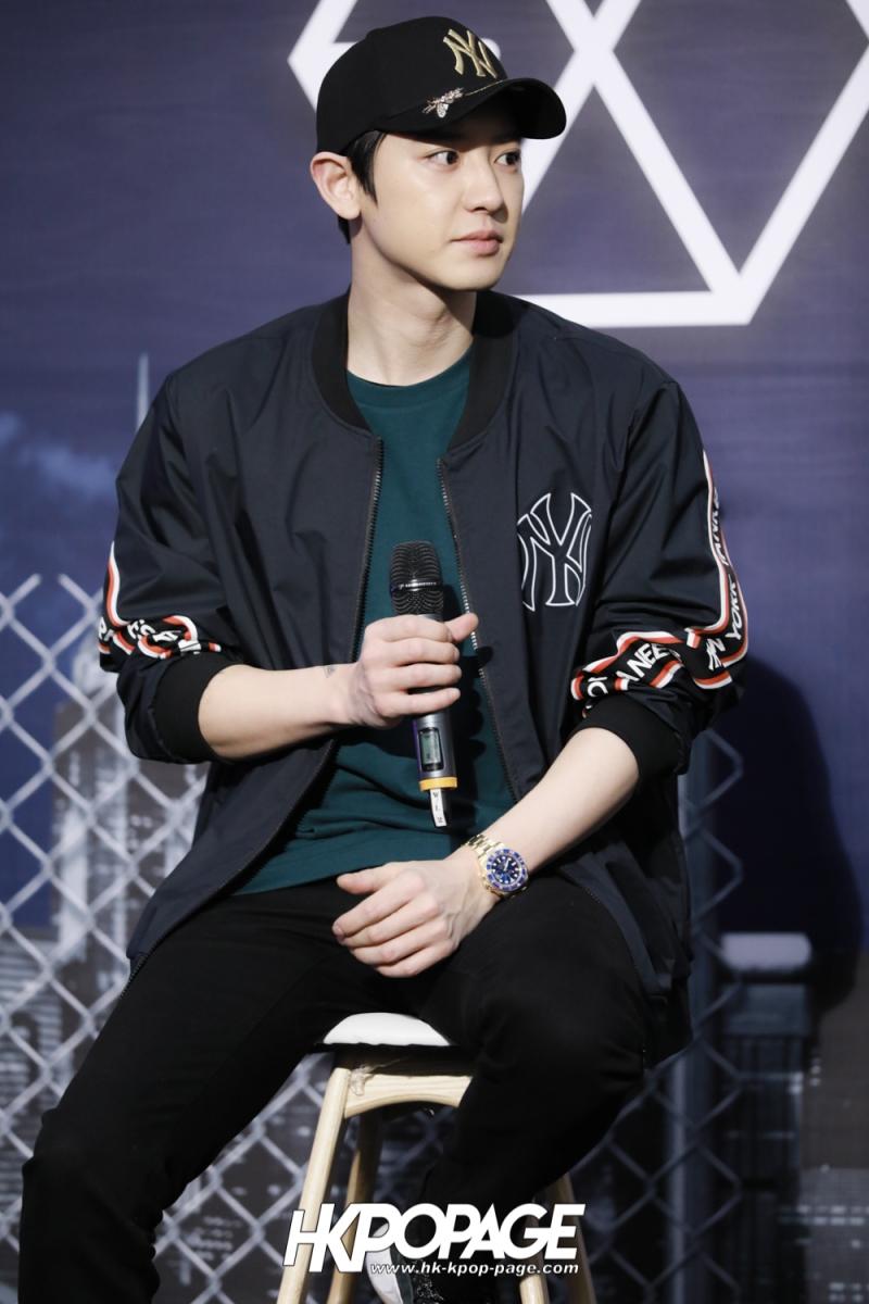 [HK.KPOP.PAGE] 180323_EXO_Chanyeol Kai Sehun_MLB Event_15