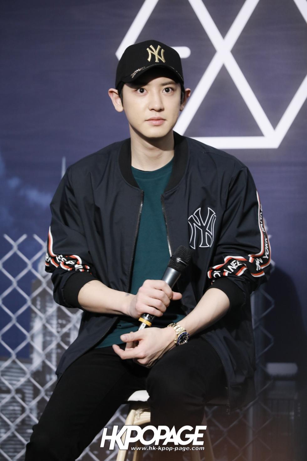 [HK.KPOP.PAGE] 180323_EXO_Chanyeol Kai Sehun_MLB Event_16