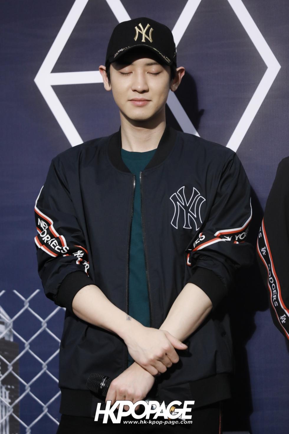 [HK.KPOP.PAGE] 180323_EXO_Chanyeol Kai Sehun_MLB Event_17