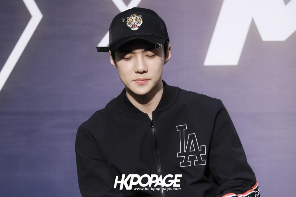 [HK.KPOP.PAGE] 180323_EXO_Chanyeol Kai Sehun_MLB Event_19