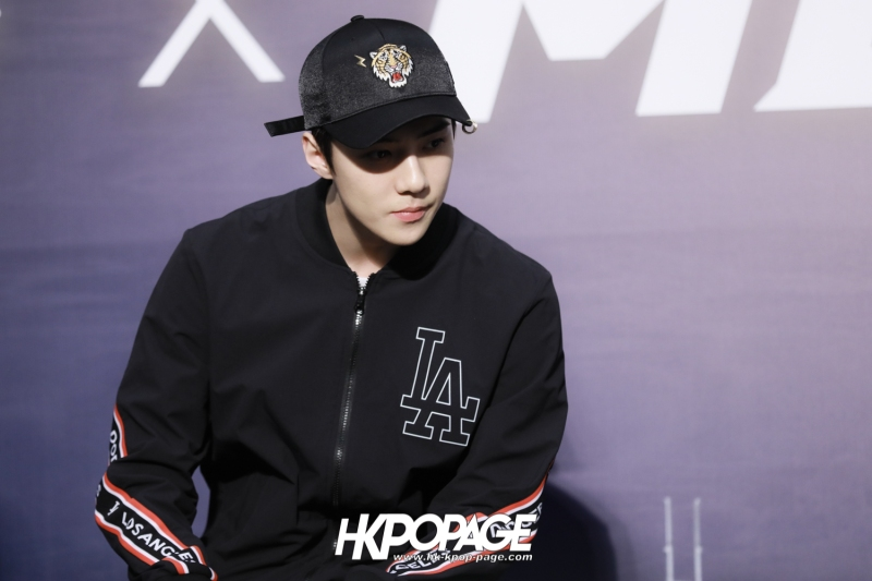 [HK.KPOP.PAGE] 180323_EXO_Chanyeol Kai Sehun_MLB Event_20