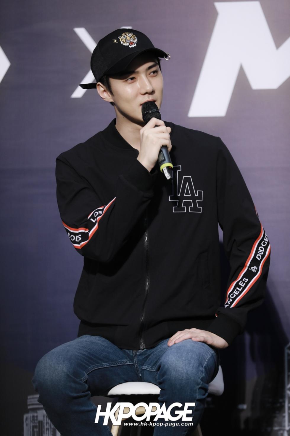 [HK.KPOP.PAGE] 180323_EXO_Chanyeol Kai Sehun_MLB Event_25