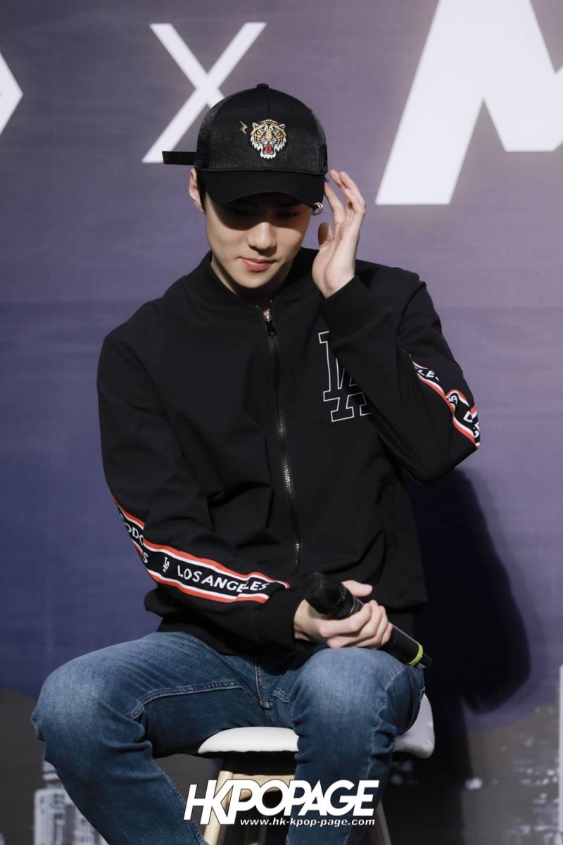 [HK.KPOP.PAGE] 180323_EXO_Chanyeol Kai Sehun_MLB Event_26