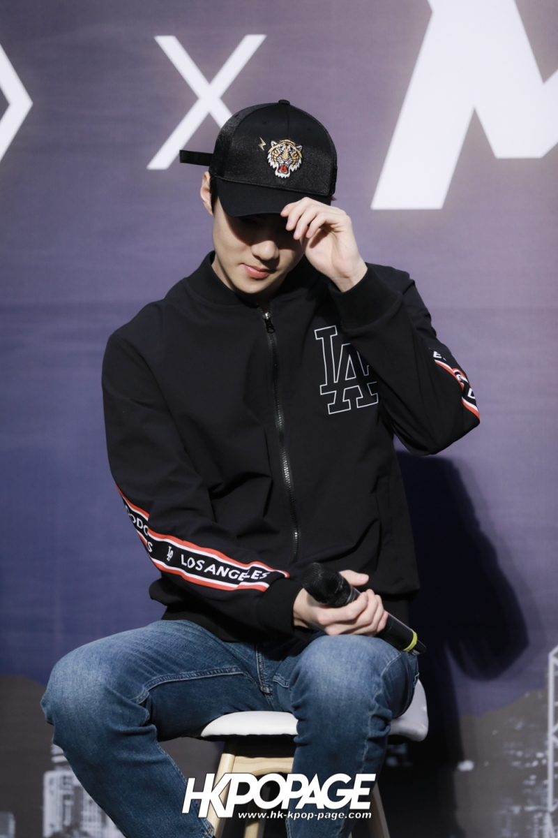 [HK.KPOP.PAGE] 180323_EXO_Chanyeol Kai Sehun_MLB Event_27