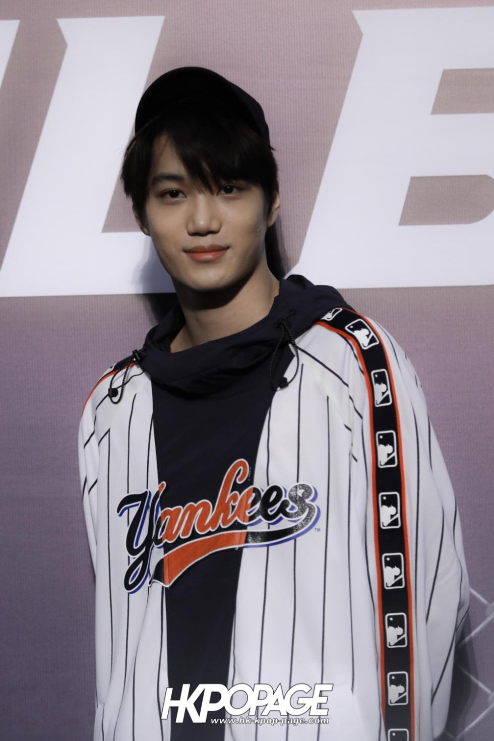 [HK.KPOP.PAGE] 180323_EXO_Chanyeol Kai Sehun_MLB Event_31