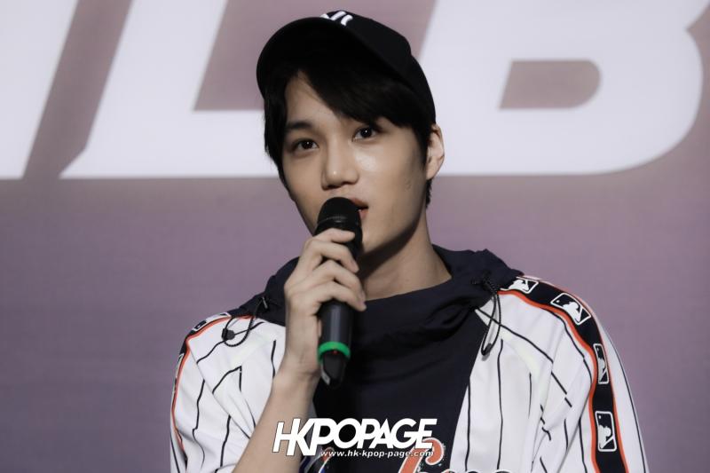 [HK.KPOP.PAGE] 180323_EXO_Chanyeol Kai Sehun_MLB Event_32