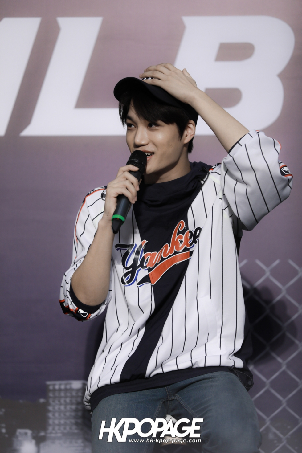 [HK.KPOP.PAGE] 180323_EXO_Chanyeol Kai Sehun_MLB Event_34