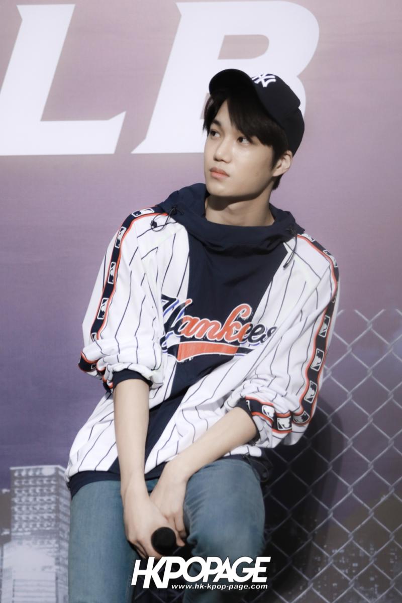 [HK.KPOP.PAGE] 180323_EXO_Chanyeol Kai Sehun_MLB Event_35