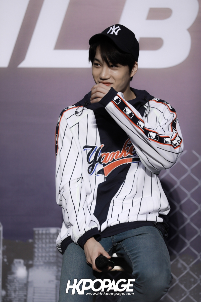 [HK.KPOP.PAGE] 180323_EXO_Chanyeol Kai Sehun_MLB Event_36