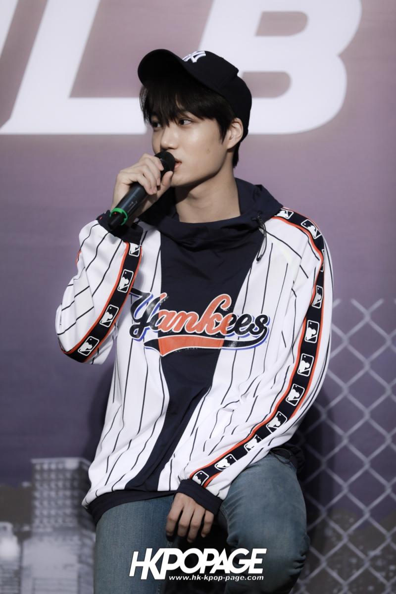 [HK.KPOP.PAGE] 180323_EXO_Chanyeol Kai Sehun_MLB Event_37