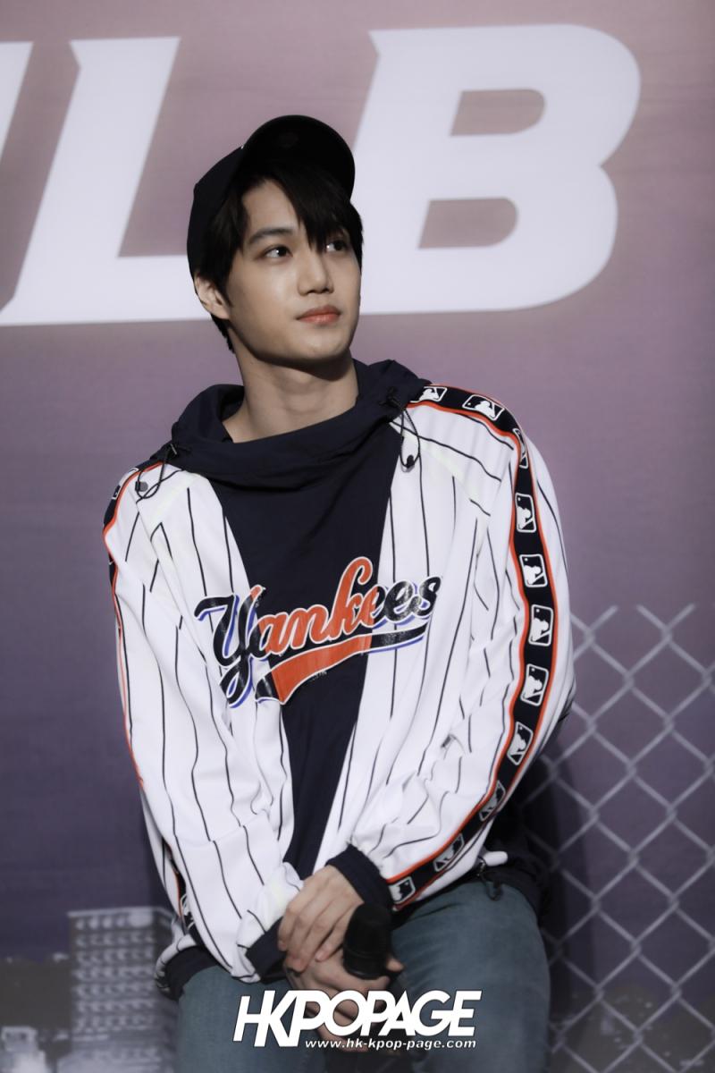 [HK.KPOP.PAGE] 180323_EXO_Chanyeol Kai Sehun_MLB Event_38