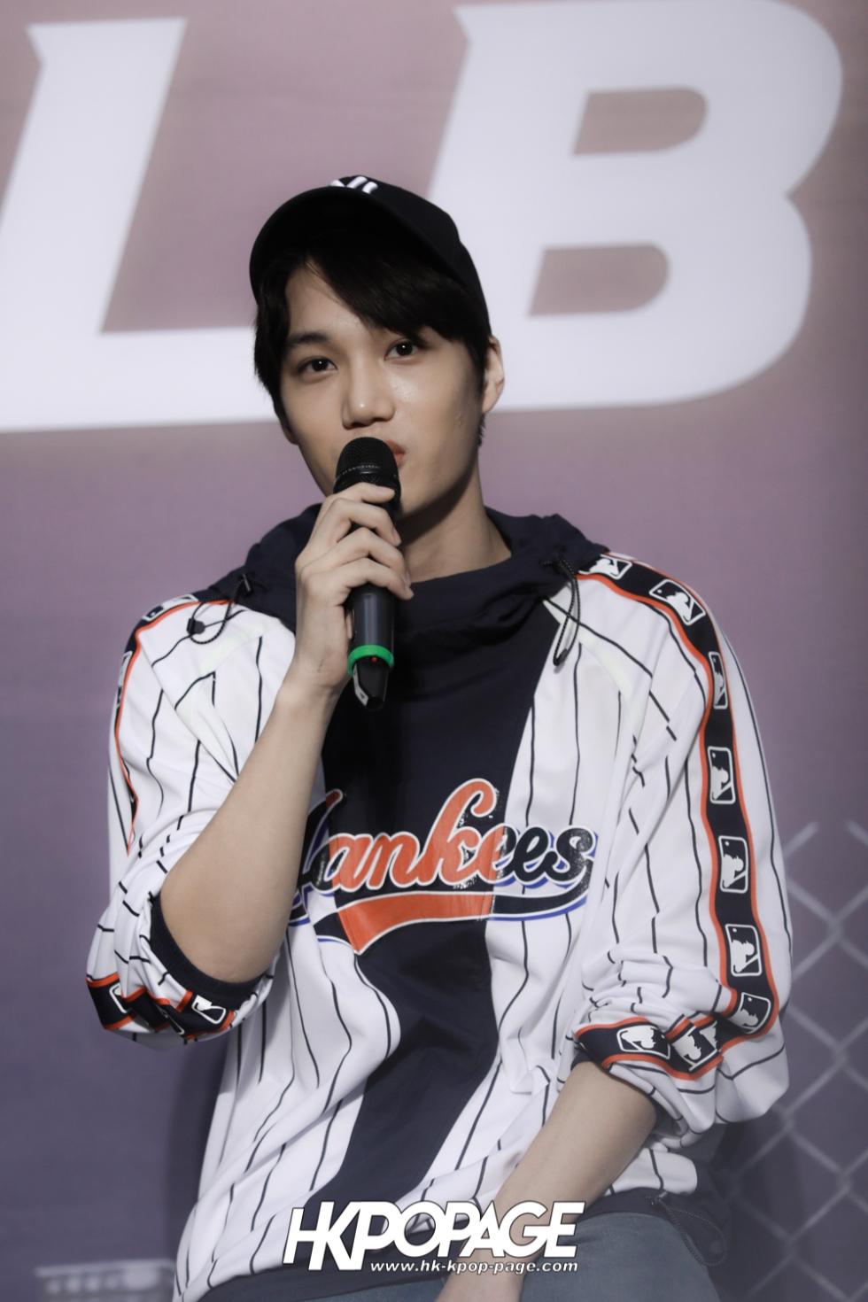 [HK.KPOP.PAGE] 180323_EXO_Chanyeol Kai Sehun_MLB Event_40