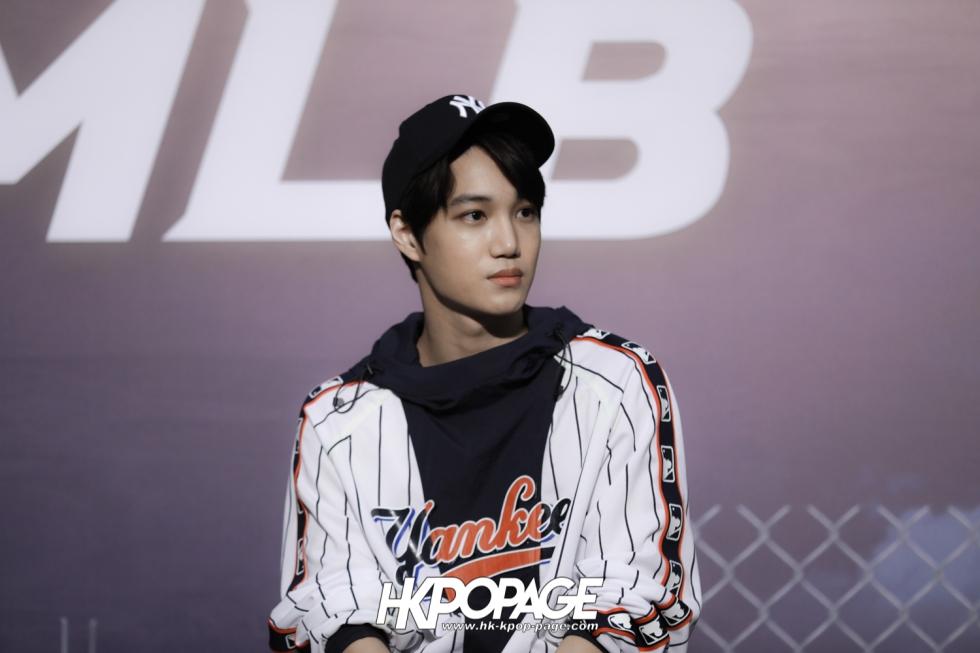 [HK.KPOP.PAGE] 180323_EXO_Chanyeol Kai Sehun_MLB Event_41