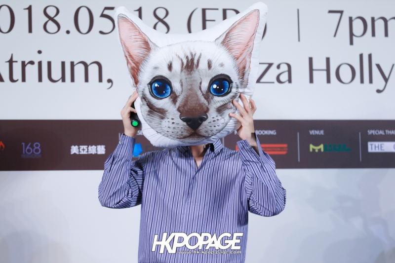 "[HK.KPOP.PAGE] 180518_Yook Sung Jae""Paradise""Fan Meeting in Hong Kong Press Conference_01"