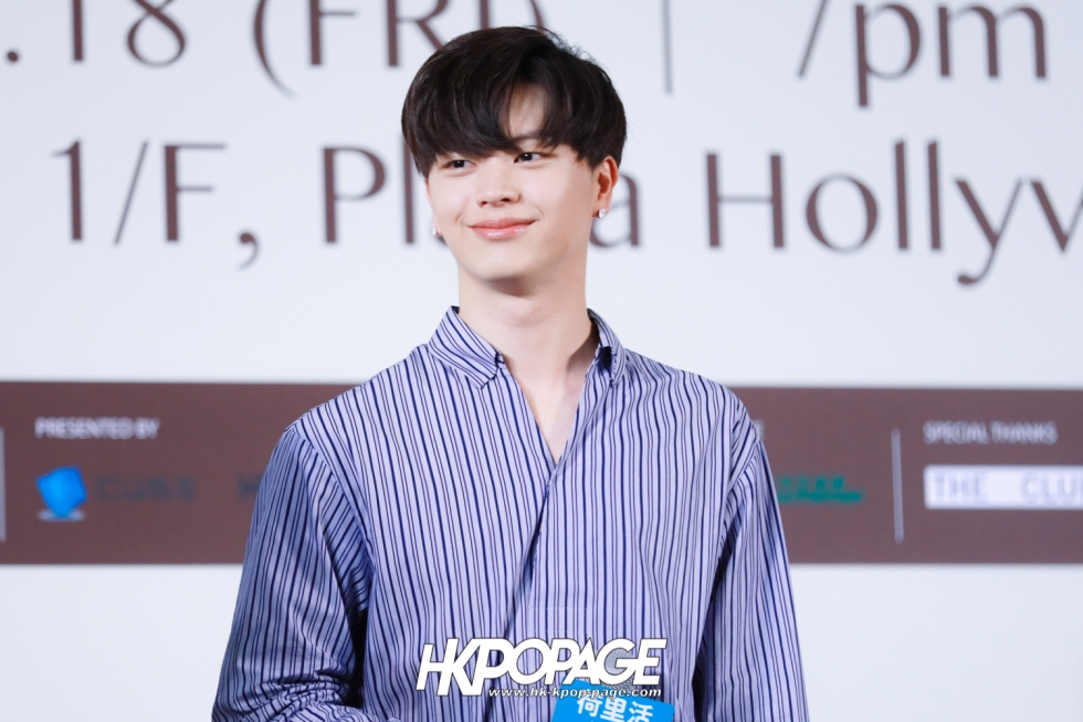 "[HK.KPOP.PAGE] 180518_Yook Sung Jae""Paradise""Fan Meeting in Hong Kong Press Conference_02"